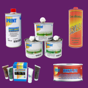 Glues - Waxes - Chemicals